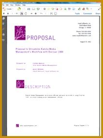 7 sales proposals templates