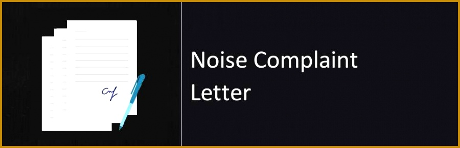 5 sample complaint letter to landlord about neighbor noise sample complaint letter to landlord about neighbor noise 88707 noise plaint letter sample format altavistaventures Gallery