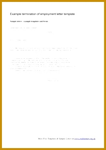 [ Free Employment Letter Templates Samples Premium Household Employee Termination Template Example ] Best Free Home Design Idea & Inspiration 309219