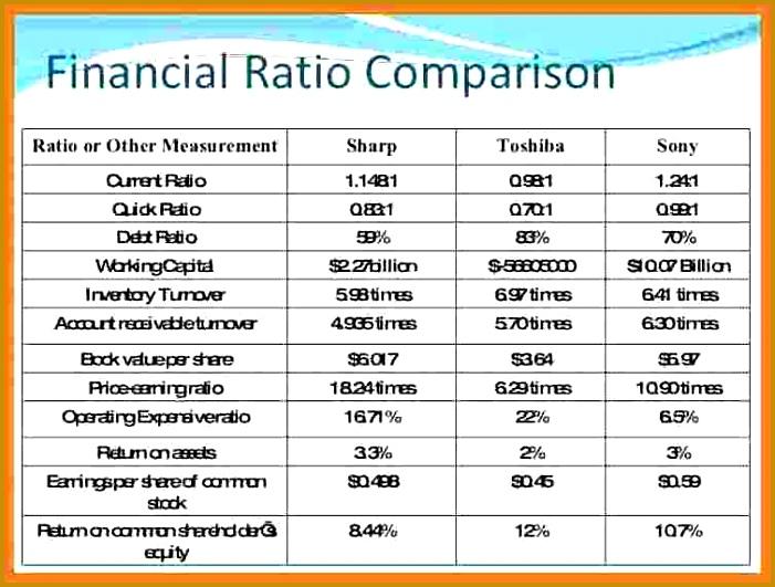 9 Sample Financial Analysis Report Template 531701
