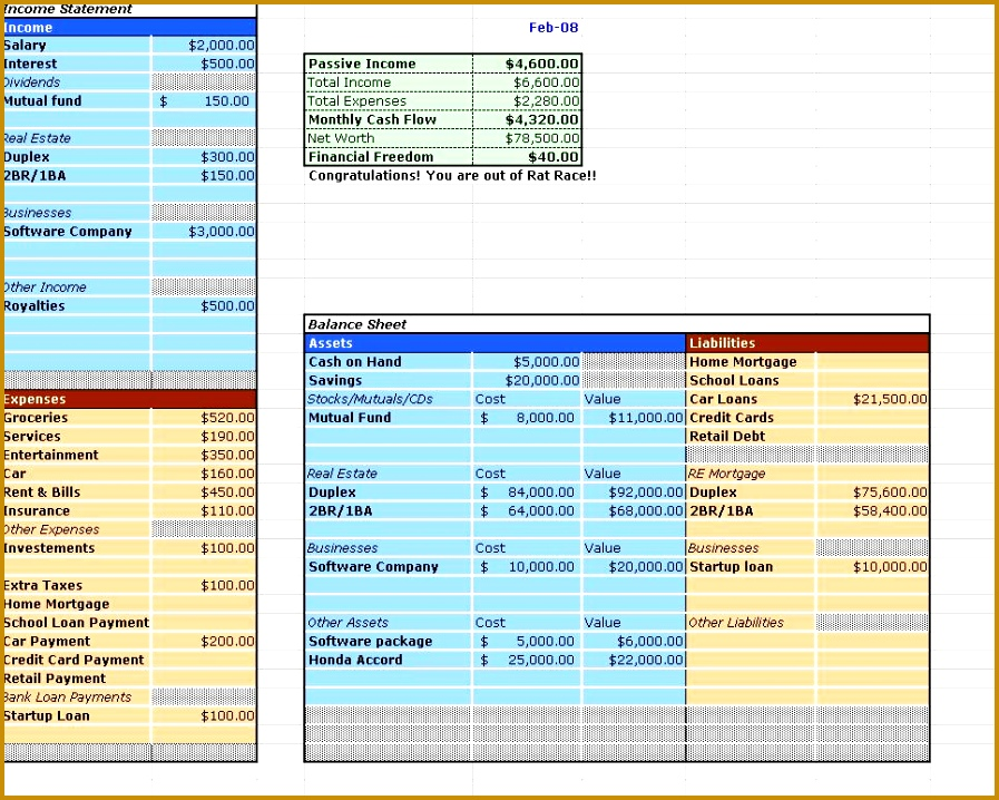financial statement JPG on the thumbnail the open an example financial 897718