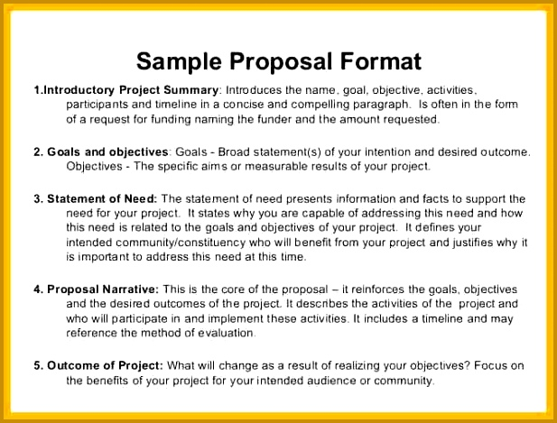 Sample Fundraising Proposal Template Ecordura 469617
