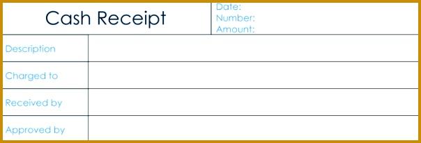 Blank Cash Receipt Template 206604