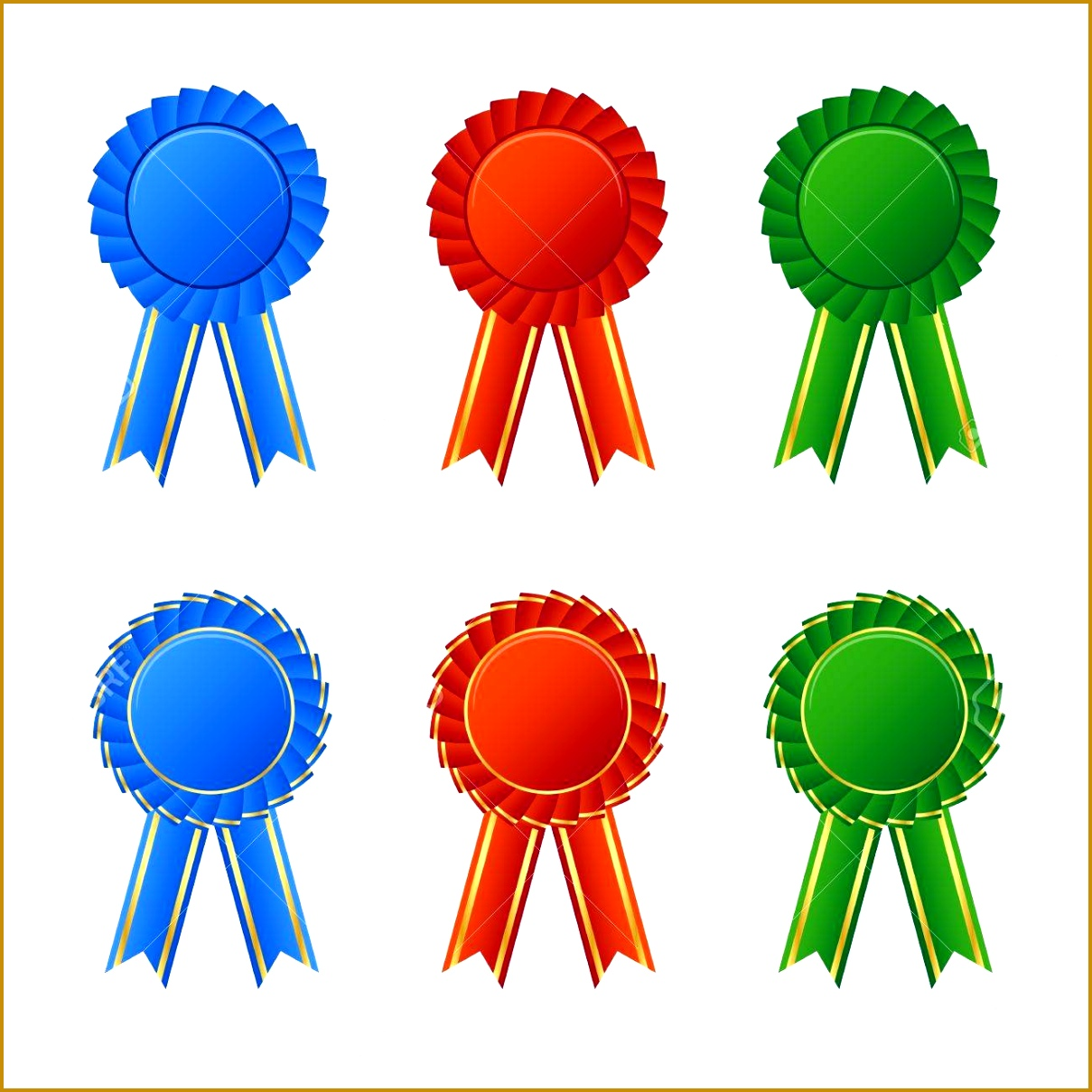 4 Sample Ribbon Award | FabTemplatez