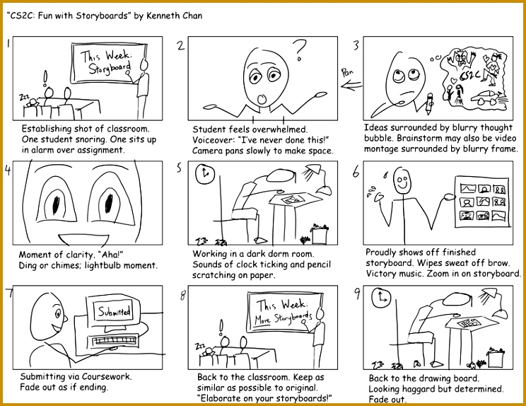 Notes From the Field – Create a Storyboard 574744