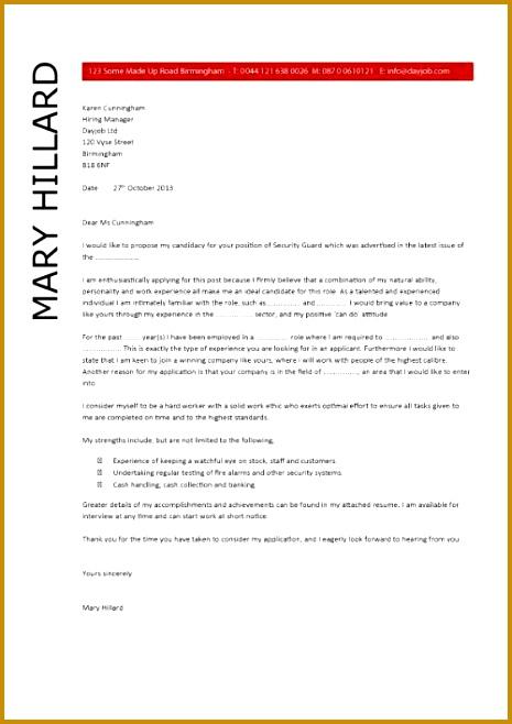 Security Guard Resume template 5 658465
