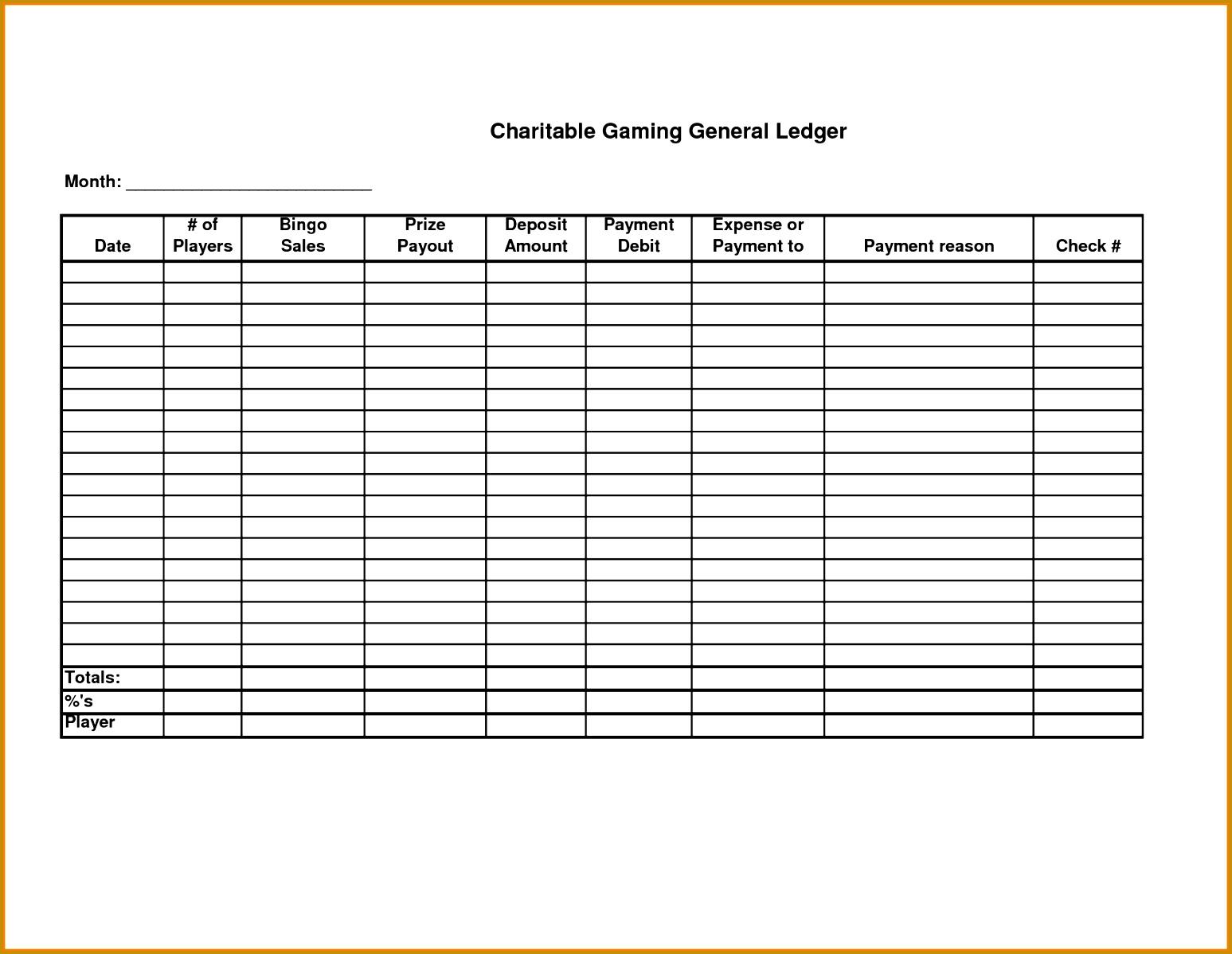 self employment ledger template sample vouchers 11981547