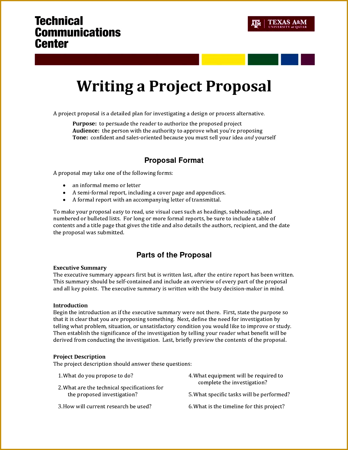 Free Business Project Proposal Template Business Project Proposal Template Doc Sample 15341185