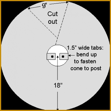 Cone Baffle Drawing by Bet Zimmerman 386386