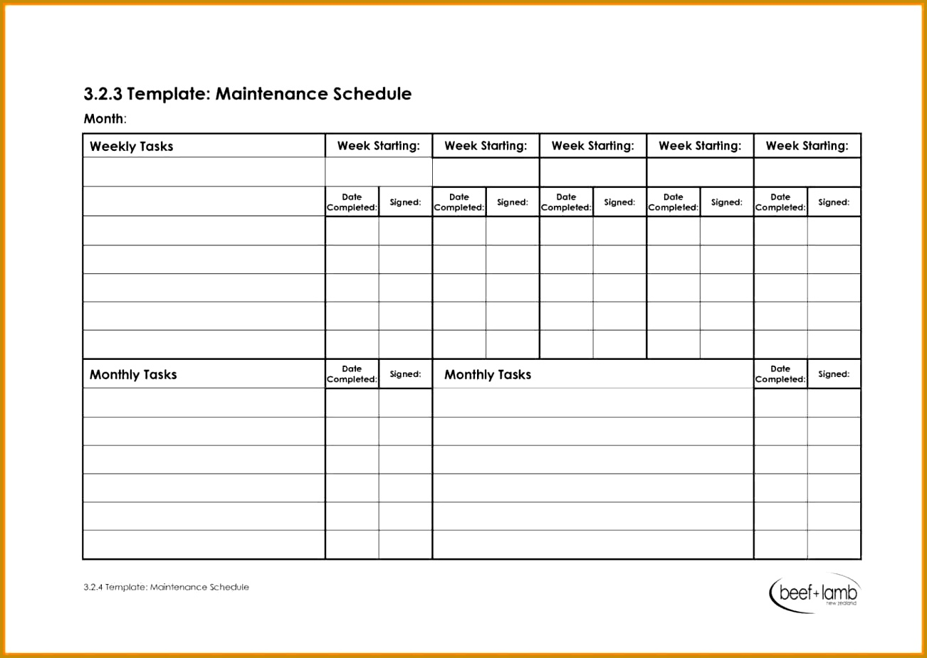 4 shop drawing log template
