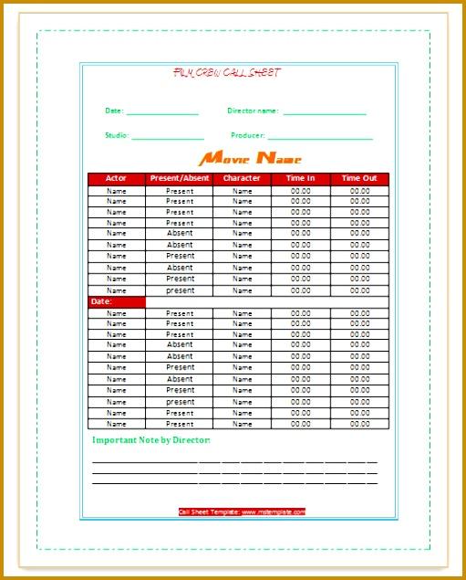 6 simple call sheet template fabtemplatez simple call sheet template by call sheet template microsoft fice templates 635511 maxwellsz