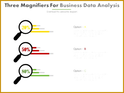 Three Magnifiers Situation Analysis Template Powerpoint Slides 1 Three Magnifiers Situation Analysis Template Powerpoint Slides 2 520390