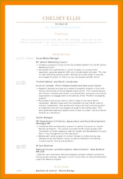 marine biologist resume marine biologist resume sample 405591