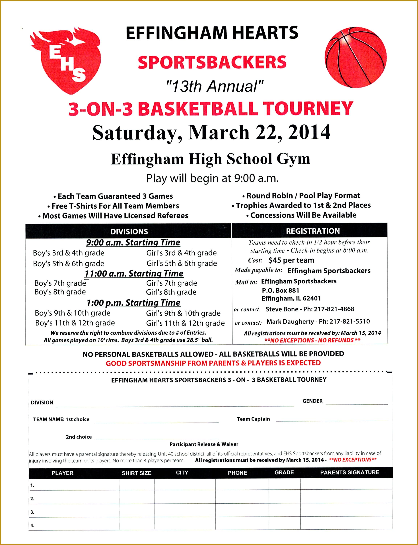 3 3 Basketball Tournament Registration Form Template by Sportsbackers 3 3 Basketball Tournament Scheduled 23053002
