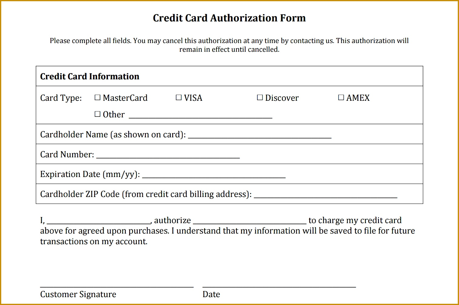 5 sports registration form template free fabtemplatez fabtemplatez credit authorization form 10081514 pronofoot35fo Choice Image