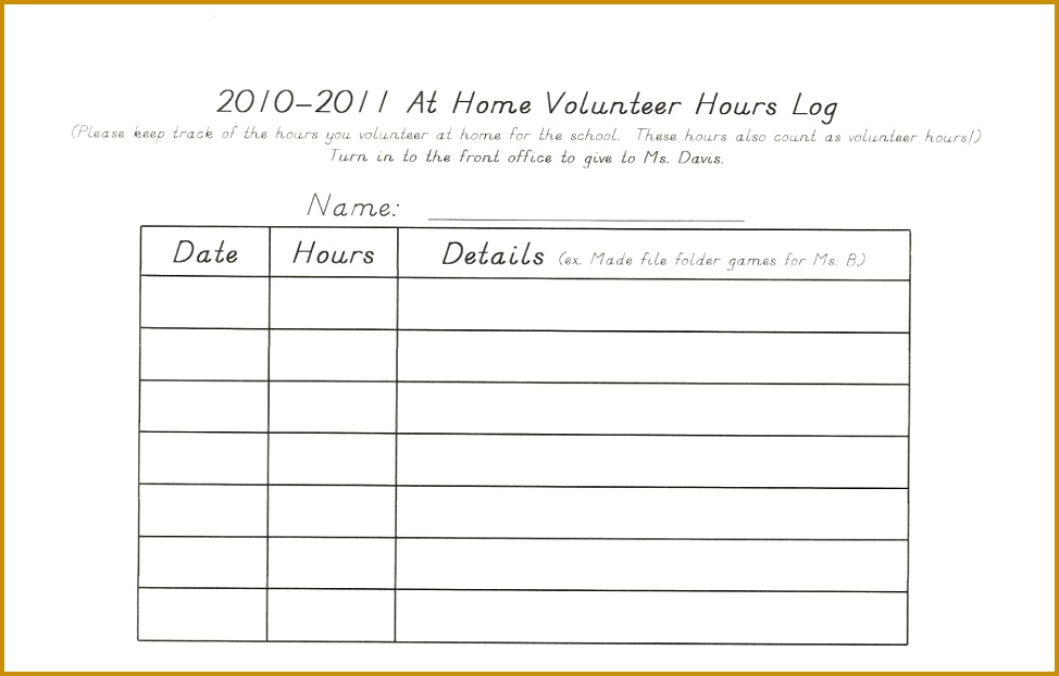 3 student learning log template