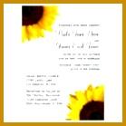3 Sunflower Wedding Invitations Templates