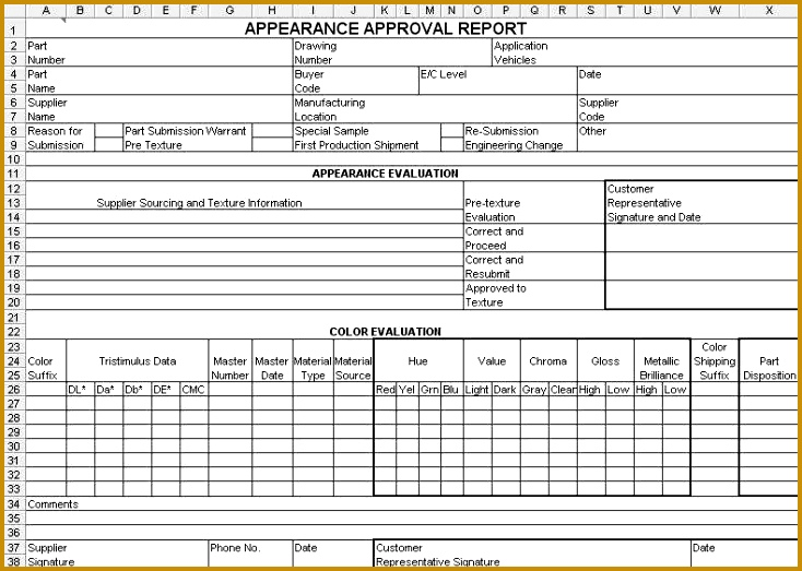 Appearance Approval Report 523734