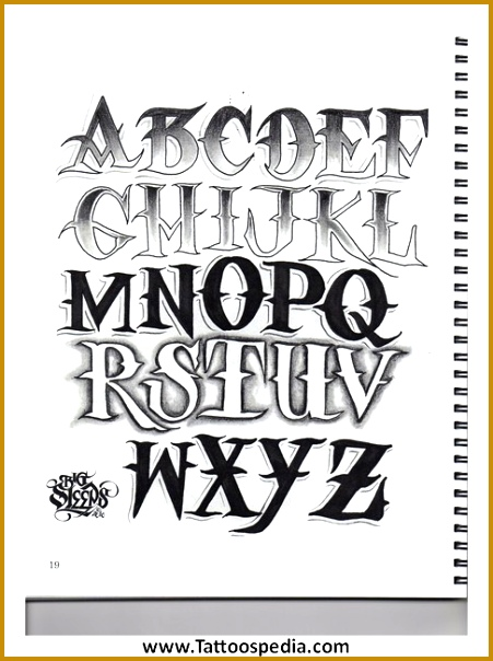 Tattoo Lettering Guide Pdf 10 604451