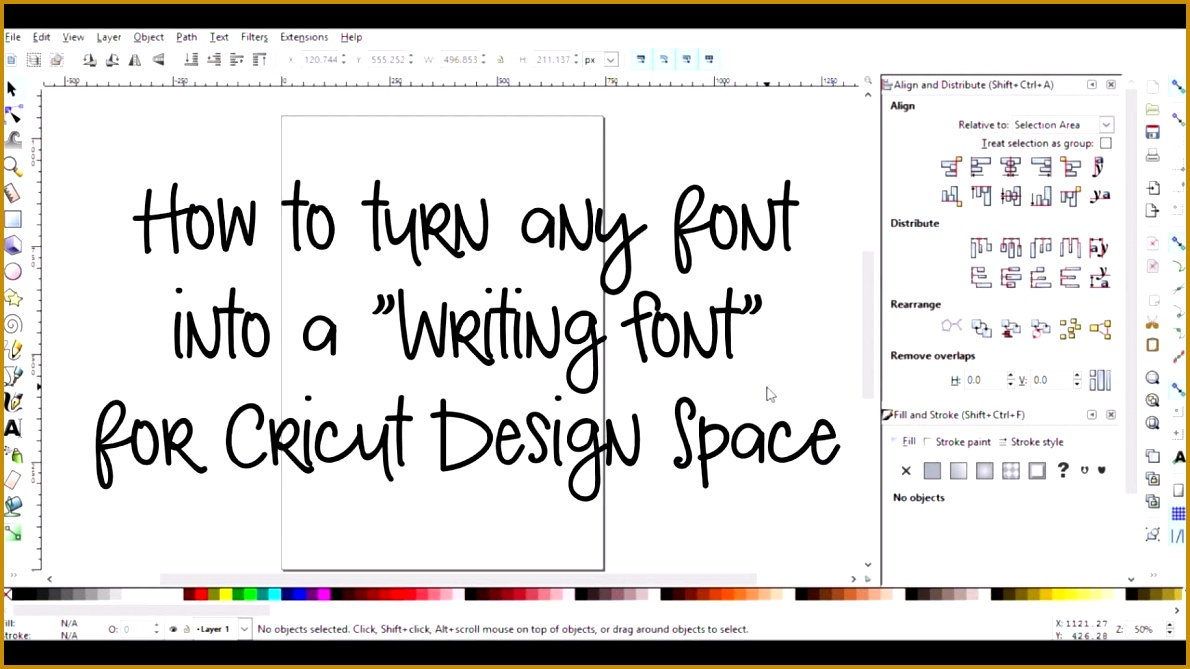 Six Letter Words Starting With S Excel Make Any Font A Writing Font For Cricut Design Space Youtube Animal That Starts With The Letter X with Request For 6691190
