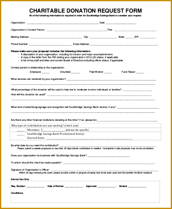 Sample Donation Request Form 10 Examples in PDF Word 558678
