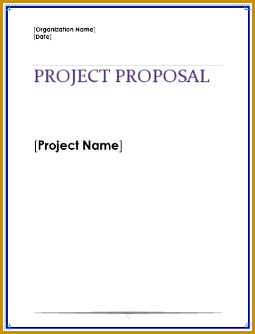 Project Proposal Template 473361