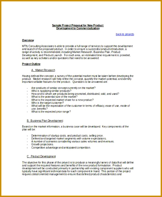 Price Proposal Template Free Construction Proposal Pdf Download 688567