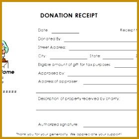 silent auction donation form template
