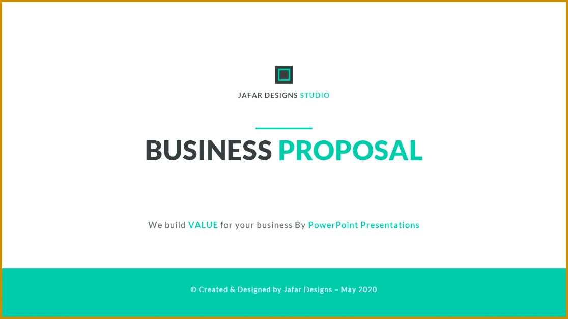 Business Proposal PowerPoint Template Business PowerPoint Templates Preview Image Set 001 Preview 6271116