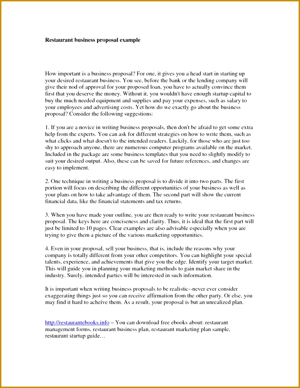 6 Example Business Proposal Introduction Template 2017 Marketing Plan Sample Pdf 2wr 9741258