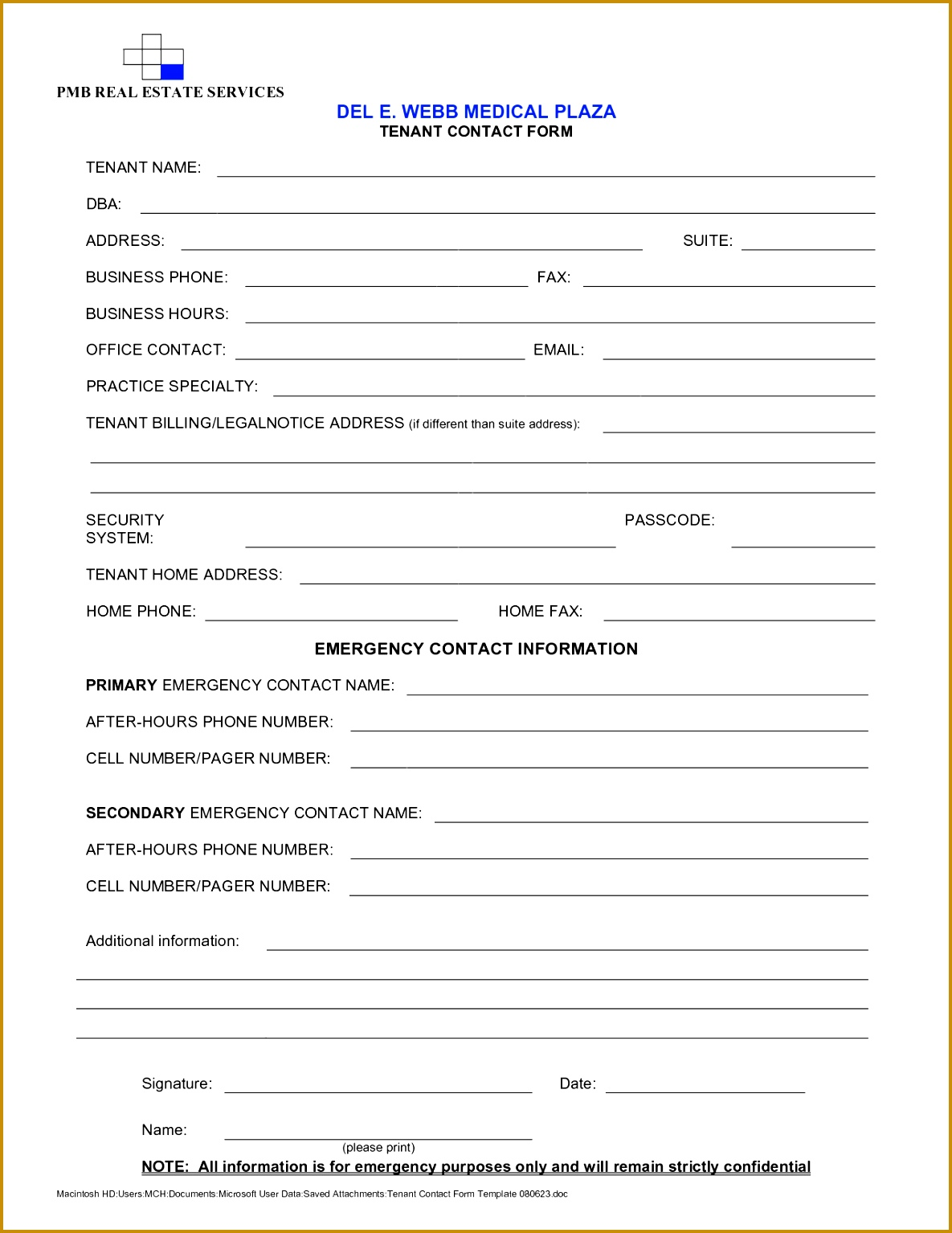 Tenant Information Sheet Template Release Tenant Information Sheet Template Release 11851534