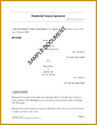 Nigeria Residential Rental Lease 429332