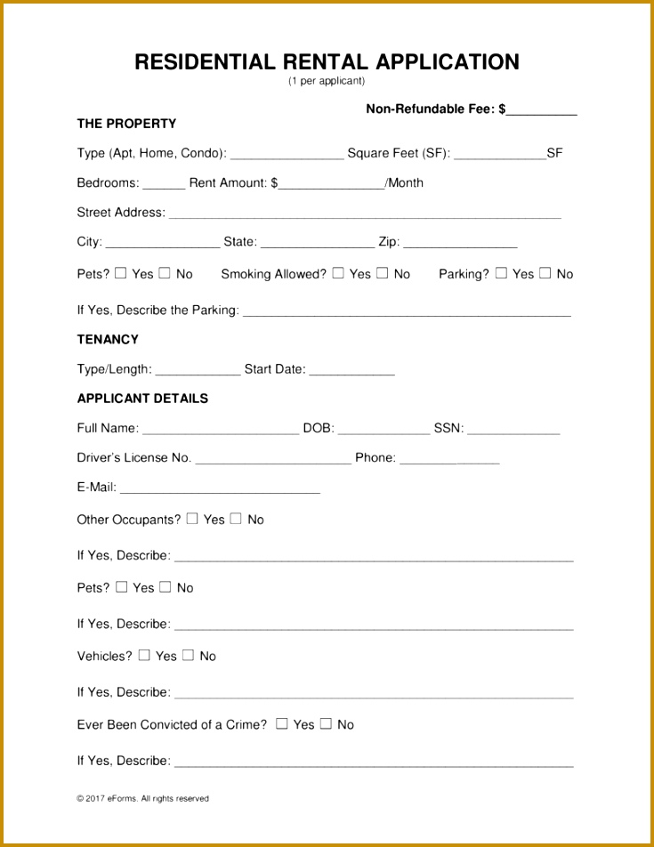 Tenant Reference Form Template  Fabtemplatez