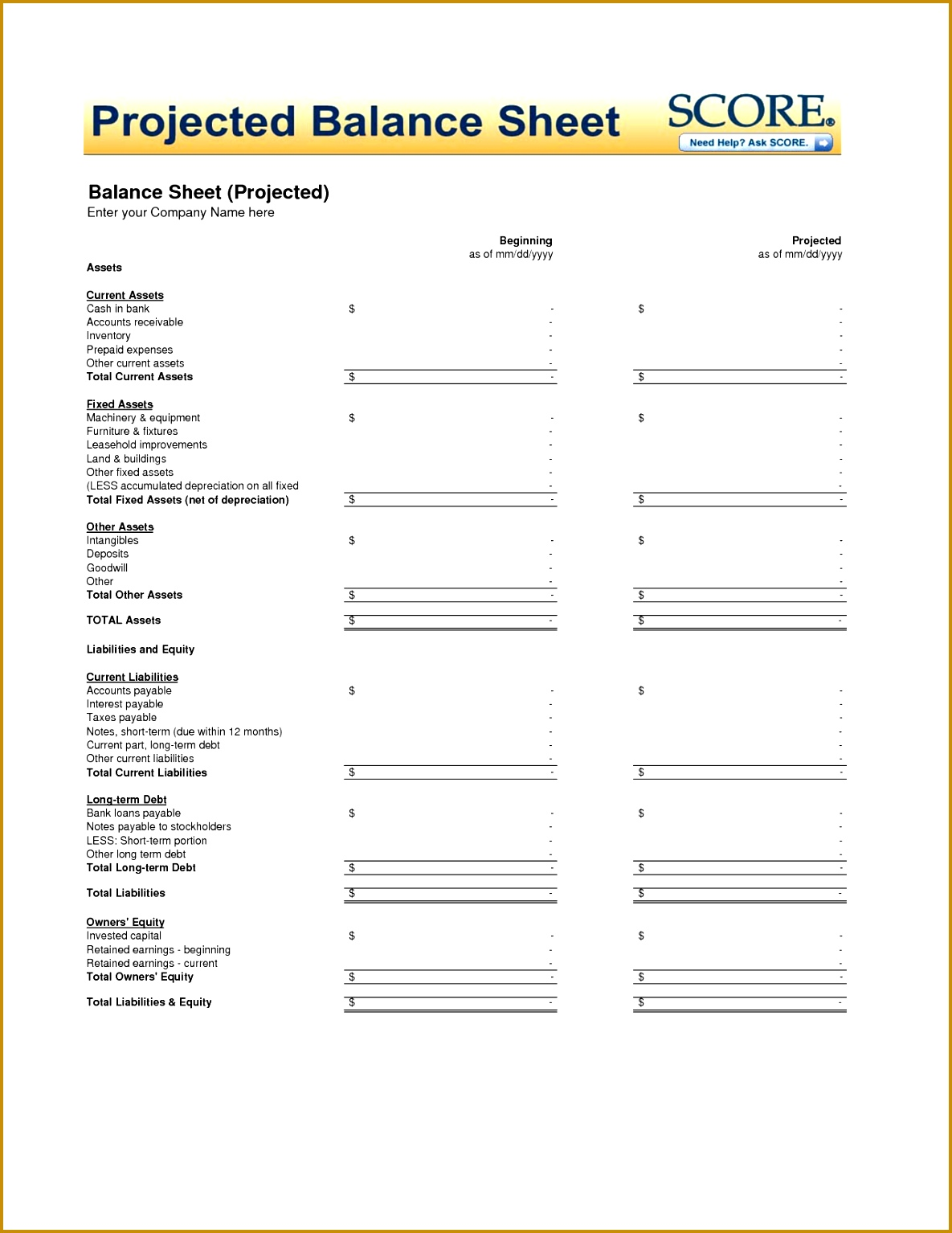7 Term Sheet Template Word   FabTemplatez