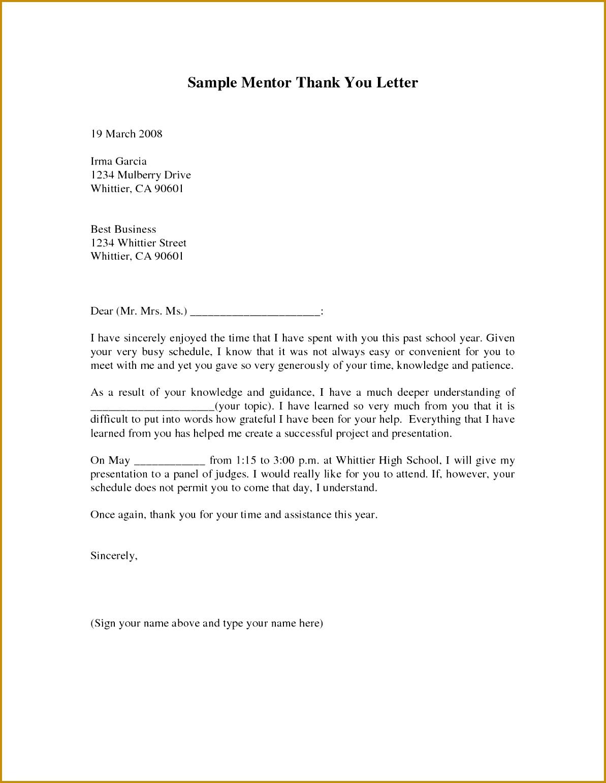 mentor thank you letterference letter sample mentor cover letter applying teaching job 15411193