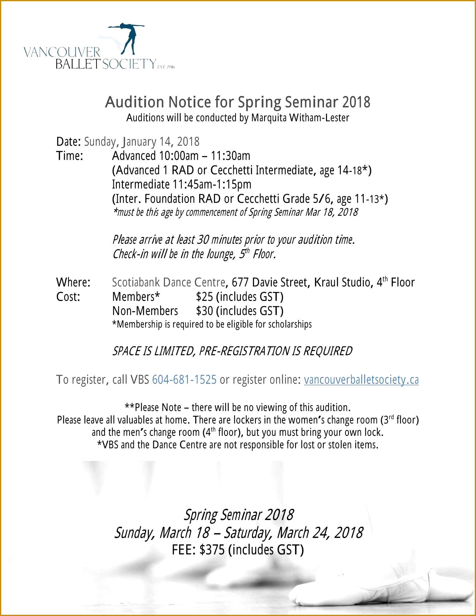 5 theatre Audition form Template