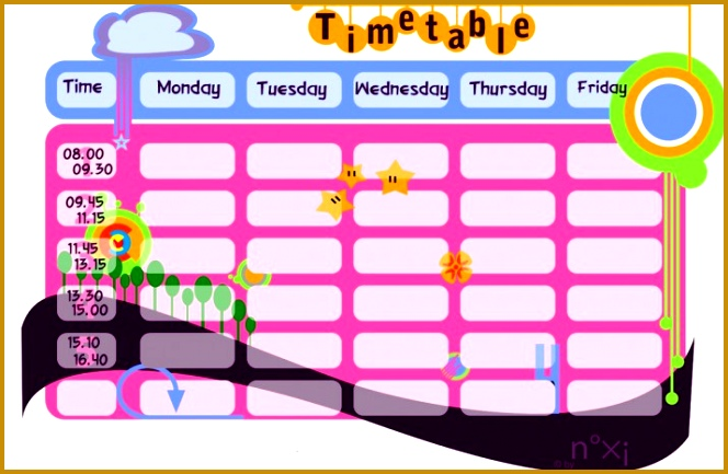 School timetable template 02 433664