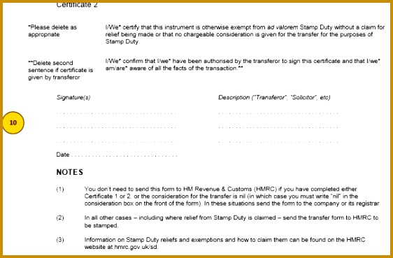 stock transfer form template stock transfer form j30 template and guide inform direct template 369562