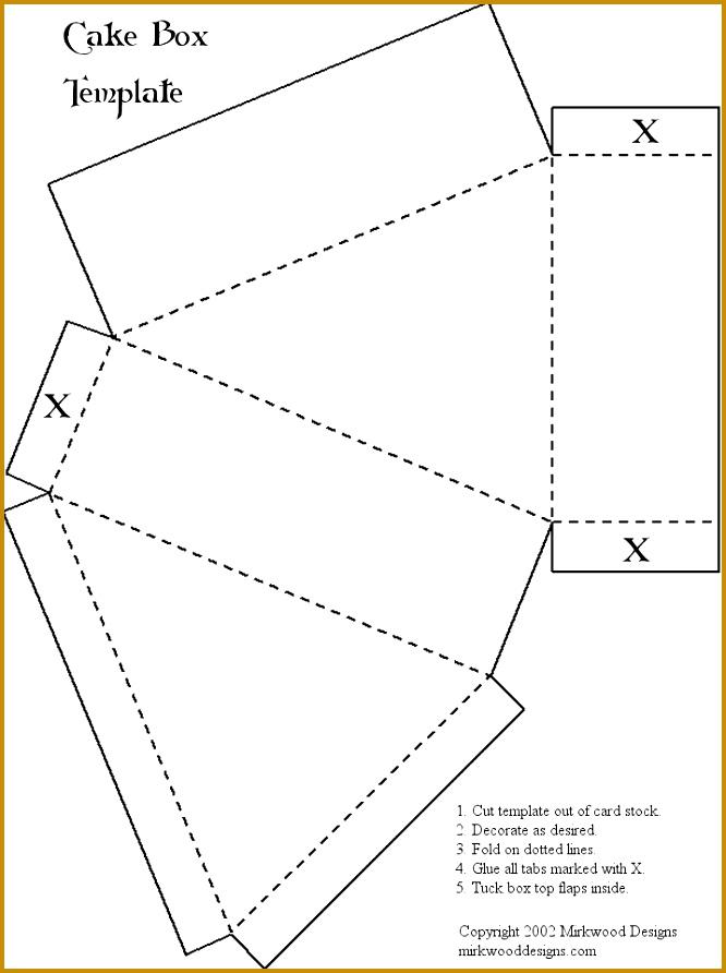 6 Triangle Packaging Template Fabtemplatez