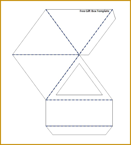 6 triangle packaging template fabtemplatez free gift box templates 604544 maxwellsz