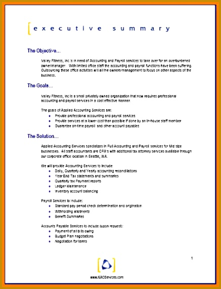11 business trip proposal template report examples Accounting Proposal Template 572437