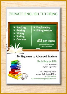 Bold Serious Tutoring Flyer Design by alex989 388279