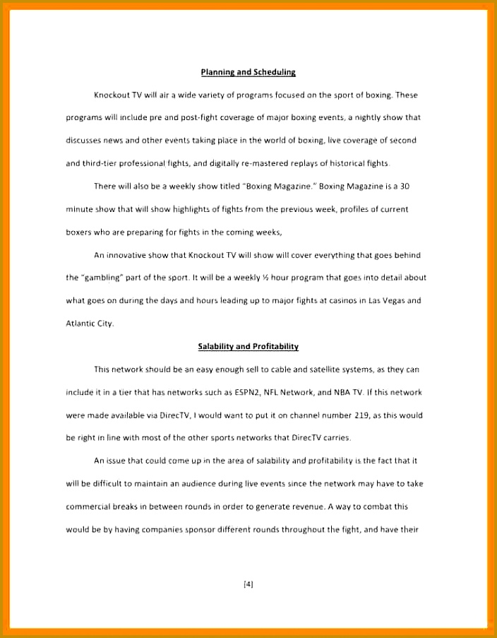 5 tv show proposal template