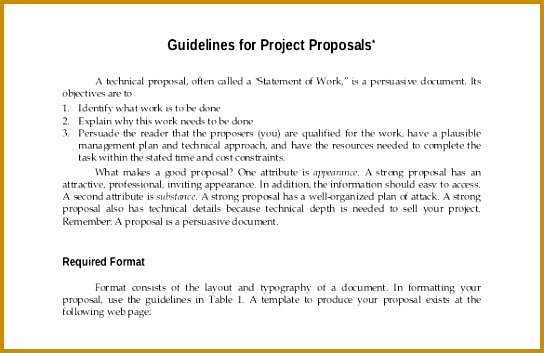 Project Proposal Template 52 Free Word Ppt Pdf Documents 353544