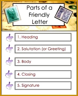 Letter Writing Friendly Letter Business Letter to Editor PDF FIle 45 Pages 325265