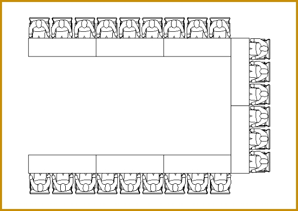 u shaped classroom seating chart template 84797 table seating plan