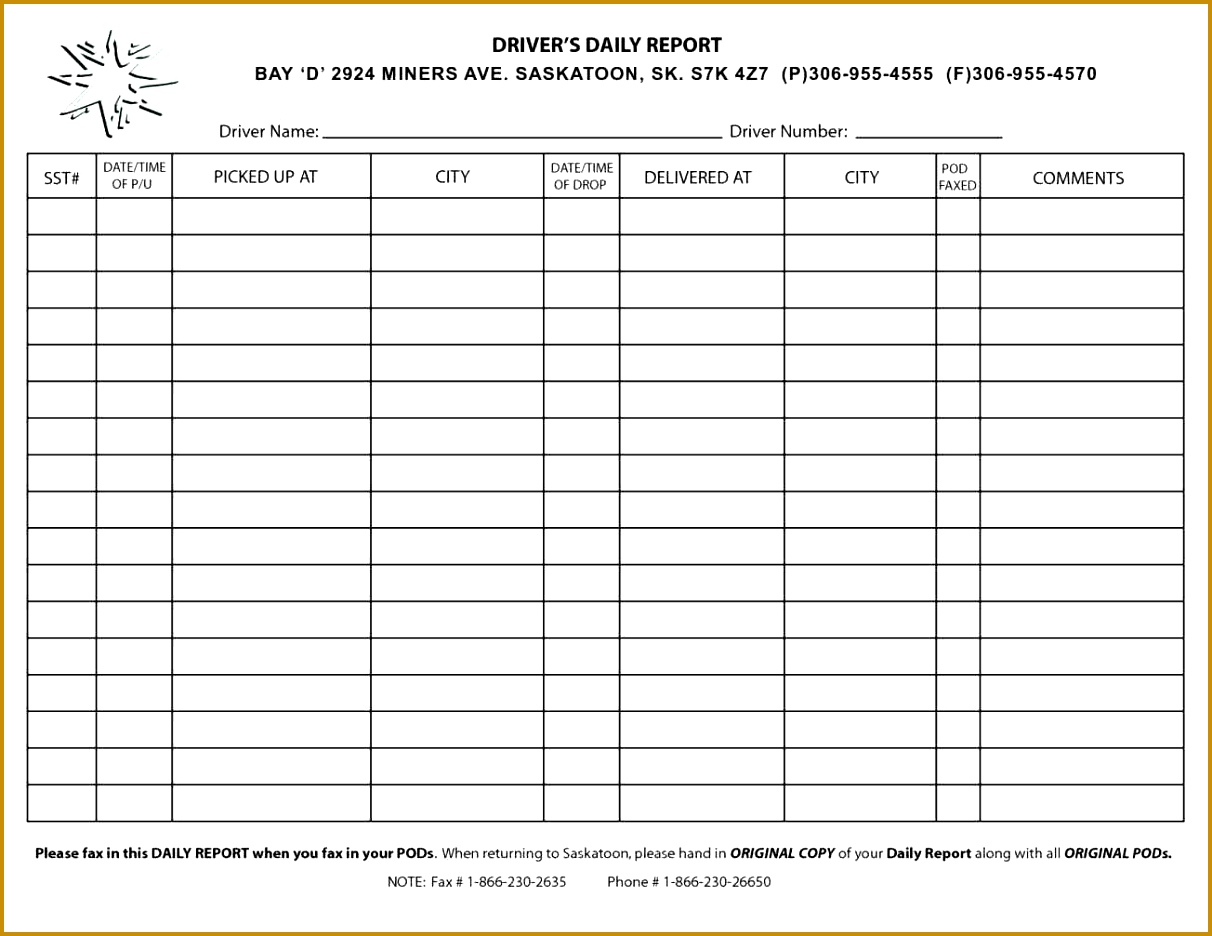 Vehicle Check Sheet Template - The Best Vehicle 2018