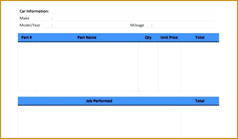 Vehicle Service Sheet Template and Preventive Maintenance form Template Virtren Download by size Handphone 558952