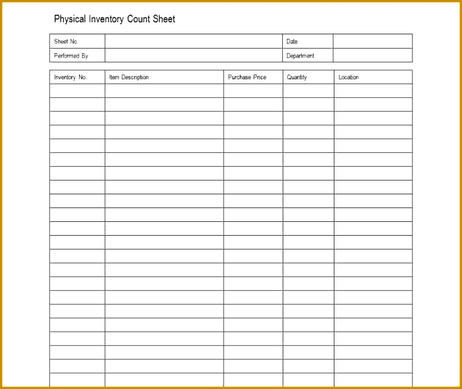 Simple Inventory Sheet Template by Beautiful Inventory Sheets Printable Best Resume 905761