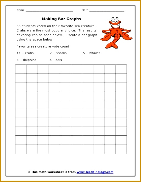 graph worksheets first grade 613474